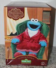 Vtg LE Plush ALISTAIR COOKIE Monster Monsterpiece Theatre 1999 Sesame Street