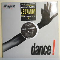 "MAXI 45T MC. BAND Vinyl 12"" Remake JEOPARDY N°1 Hit Dance ON THE BEAT 1078-6"