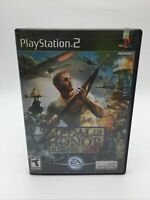Medal of Honor: Rising Sun (Sony PlayStation 2, 2003) Complete