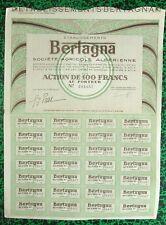 Algérie Epoque Coloniale - Bône - Déco Thèmes du Vin & de l'Agriculture de 1928