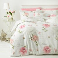 Floral Printed Poly Cotton Canterbury Duvet Quilt Cover set Pillow Cases single