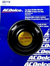 """ACDelco Cap Style Oil Filter Wrench 65-67MM 14 Flutes 2-Step 3/8"""" Dr 30119 *USA*"""