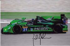 David Brabham SIGNED  Team Patron HPD ARX-03a   WEC 2012