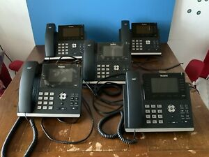 Yealink T46G Phone, Stand and Ethernet Cable, no Power Adapter, One Left