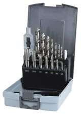 Ruko 15pcs. sencillo corte juego de llaves M3-m12 grifo Hss-g brocas