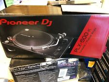 Pioneer DJ PLX-500-K Direct Drive DJ Turntable, Black