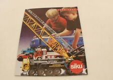 SIKU catalogue 1998 1999 voitures camions tracteur agricole