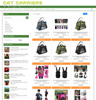 CAT CARRIER WEBSITE BUSINESS FULLY STOCKED - NEW DOMAIN + 1 YEARS HOSTING