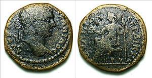 CARACALLA Serdica /Thrace - Pentassarion (AE29) (Hera seated) 15.3 gr, 29 mm
