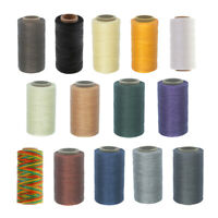 260M Leather Sewing Waxed Thread 150D 0.8mm Leather Hand Stitching DIY Craft