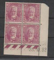 FRANCOBOLLI - 1933 FRANCIA FR. 1,25 HUGO MNH/MLH E/2289