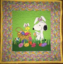 SNOOPY LOVERS EASTER QUILT