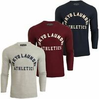 Mens Tokyo Laundry Long Sleeved T-Shirt 'Stanford'