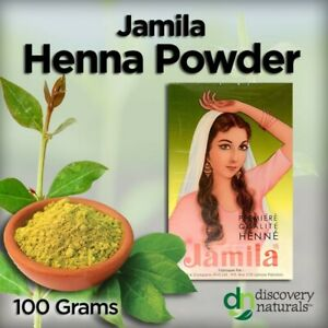 Jamila Pure Henna Powder Mehandi For Hair 100g buy 5 get 1 free