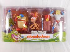Ren & Stimpy Nickelodeon Figure set w/ Powdered Toastman, Mr. Horse  & Log