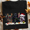Christmas gift Star Wars Darth Vader Stromtrooper Boba Fett chibi black T-shirt