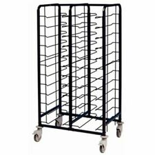More details for eais powder coated enamel clearing trolley 24 tray capacity