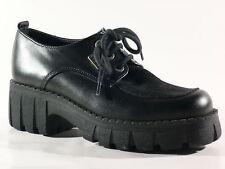 Elefanten Niñas Zapatos 31 Negro Cuero Medio Nuevo