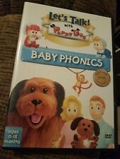 CHILDREN/FAMILY-LETS TALK WITH PUPPY DOG PHONICS DVD CD VERY GOOD  FREE SHIPPING