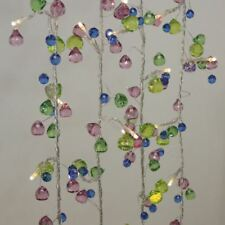 Aqua Chic - 27 LED Indoor String Light Chain - Battery Powered