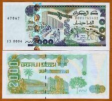 ALGERIA, 2000 (2,000) Dinars, 2011, P-New, UNC