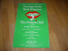 DRAGONS TAIL Original Cast Signed  Keith Hines & Kingston  APOLLO Theatre Poster