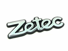 Genuine New FORD ZETEC BOOT BADGE For Fiesta IV 95-99 Focus 98-04 Mondeo 1992-00
