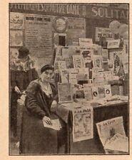 77 MELUN FOIRE EXPOSITION PRESSE PRESENTE IMAGE 1933 OLD PRINT