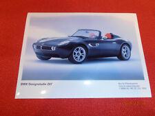 BMW Farbfotoserie, Designstudie BMW Z 07!!!