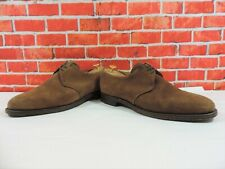 Alfred Sargent Mens Shoes UK 11 FX US 12  EU 45 Brown Suede Glove Minor Use