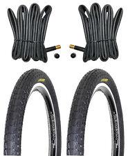 2 BMX Reifen Fahrradreifen von KENDA inklusive 2 Schläuche 20x1.95 ETRTO 50-406