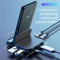Type C to HDMI Dex Station Charging Dock SD TF Extension Hub For Samsung S10 S9