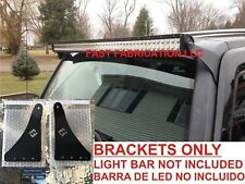 "Hummer H3 50 Inch 50"" LED Light Bar Mount Brackets - Straight/Curved-NO HARDWARE"