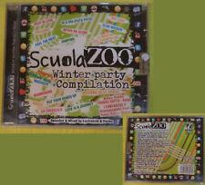 CD Compilation SCUOLA ZOO winter party SIGILLATO Sak Noel Nadia Ali no mc (C4)