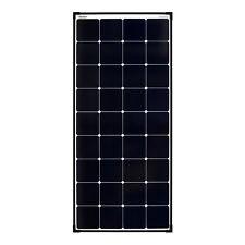 enjoysolar® Mono Ultra 120Watt SunPower Back-Contact Solarmodul 12V
