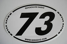 73 QUICKSILVER RADIO (STICKER ONLY)........................RADIO_TRADER_IRELAND.