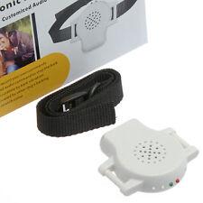 Ultrasonic Sound Bark Barking Stopper Dog Pet Training Collar + Record Voice Com