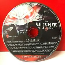 THE WITCHER 3 WILD HUNT (SOUNDTRACK)(DISC ONLY) #WALL