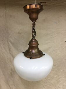 Antique Copper Schoolhouse Light