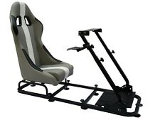 Simulador de conducción Simulador Chair Racing Asiento Silla De Juego Xbox Playstation PC F1