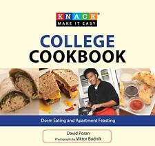 Knack College Cookbook: Dorm Eating and Apartment Feasting - Acceptable - Poran,