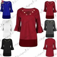 Unbranded Polyester V-Neck Tops & Shirts for Women
