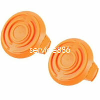 2 Pack WORX 50006531 WA6531 Spool Cap Cover GT Trimmer Edger Cordless Trimmers