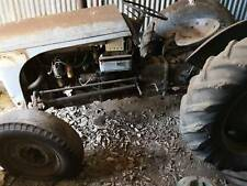 Grey petrol Ferguson tractor which has been stored in a rural shed for 10 years.