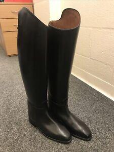 Black cavallo dressage boots size 5