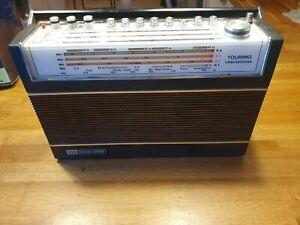 VINTAGE 1970S ITT SCHAUB-LORENZ TOURING International 103 radio working wa issue