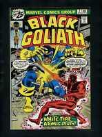 Black Goliath #2 F/VF 1976 Marvel Comic Book