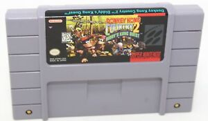 Donkey Kong Country 2: Diddy's Kong Quest Super Nintendo SNES Game AUTHENTIC '95