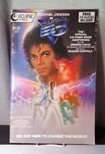 Michael Jackson, Captain EO Eclipse 3D Comic Special #18 Disney 1987 w 2 Glasses
