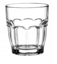 Bormioli Rocco 6 3/4 oz Stackable Juice Glasses Set Of 12 Dishwasher Safe clear